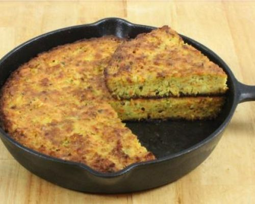 Zucchini and Carrots Frittata